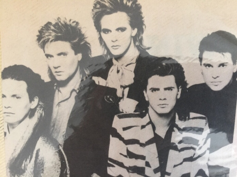 I'll bet you could set a plate on each one of their heads and not dent their hair. Duran Duran had it all: looks, musicianship and charisma. This is not to mention their contributions to music videos. Thanks to my sister's Duran Duran obsession their music still rocks in my house. Thanks sis.
